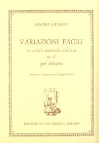 Variazioni facili, op.47(Chiesa) available at Guitar Notes.