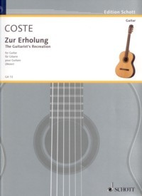 La Recreation du guitariste, op.51(Meier) available at Guitar Notes.