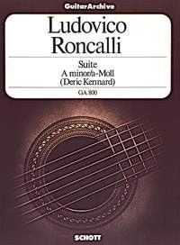 Suite in a minor(Kennard) available at Guitar Notes.