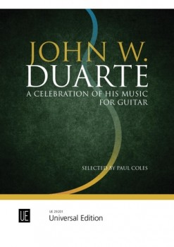 A Celebration of his Music for Guitar available at Guitar Notes.