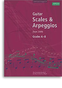 Scales & Arpeggios, Grades 6-8 available at Guitar Notes.