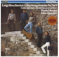 Boccherini Quintets no.7 & 9 [NEW] available at Guitar Notes.