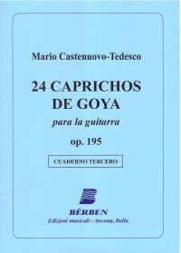 24 Caprichos de Goya, Vol.3 available at Guitar Notes.