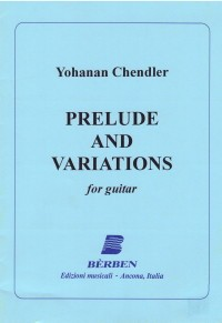 Prelude & Variations available at Guitar Notes.