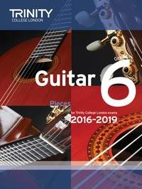 Guitar Exam Pieces Grade 6 2016-2019(NEW) available at Guitar Notes.