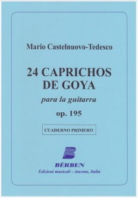24 Caprichos de Goya, Vol.1 available at Guitar Notes.