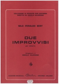 Due Improvvisi available at Guitar Notes.