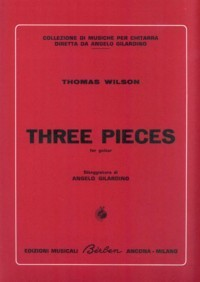 Three Pieces available at Guitar Notes.