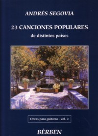 Obras, Vol.2: 23 Canciones Populares available at Guitar Notes.