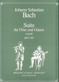 Suite, BWV997(Uhlmann) available at Guitar Notes.