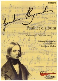 Feuillet d'album available at Guitar Notes.