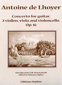 Concerto, op.16 [2Vn/Va/Vc/Gtr] available at Guitar Notes.