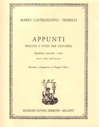 Appunti, op.210, Book 2.2 available at Guitar Notes.