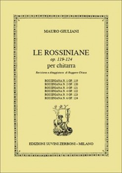 Rossiniana no.1, op.119(Chiesa) available at Guitar Notes.