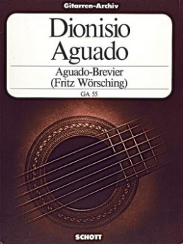 Aguado-Brevier: Selected Pieces available at Guitar Notes.