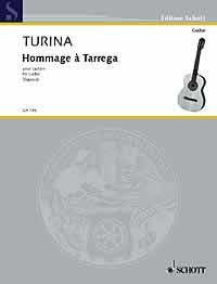 Hommage a Tarrega available at Guitar Notes.