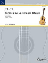 Pavane pour une infante defunte(Gubbay) available at Guitar Notes.