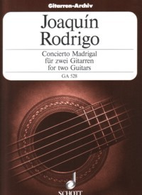 Concierto Madrigal(Amadeus Duo) available at Guitar Notes.