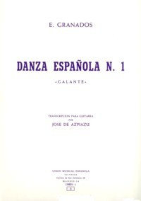 Danza espanola no.1(Azpiazu) available at Guitar Notes.