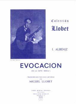 Evocacion (Llobet) available at Guitar Notes.