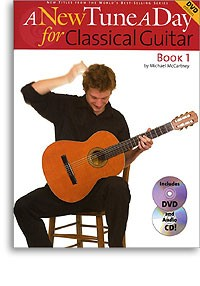 A New Tune a Day, Book 1[BCD/DVD] available at Guitar Notes.