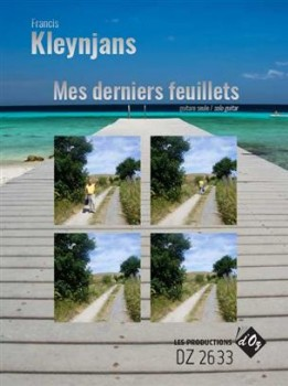 Mes derniers feuillets op.300 available at Guitar Notes.