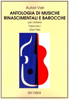 Anthology of Renaissance & Baroque Music, v.1 available at Guitar Notes.