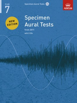 Specimen Aural Tests: Grade 7 available at Guitar Notes.