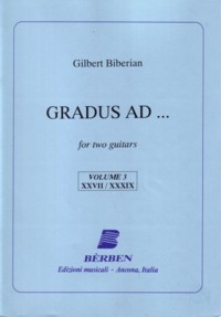 Gradus Ad: Vol.3 available at Guitar Notes.