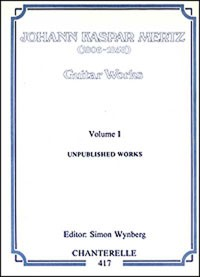 Guitar Works, Vol.1: Unpublished Works available at Guitar Notes.