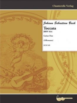 Toccata BWV914 (Offermann) available at Guitar Notes.