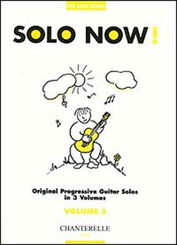 Solo Now! Vol.3 available at Guitar Notes.