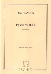 Passacaille (Santos) available at Guitar Notes.