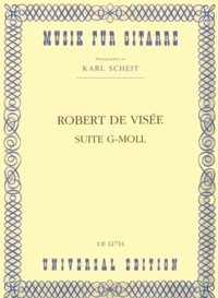 Suite in g minor(Scheit) available at Guitar Notes.