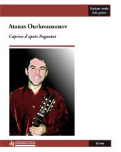 Caprice d'apres Paganini available at Guitar Notes.