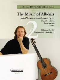 The Music of Albeniz Vol.2 (Russell) available at Guitar Notes.