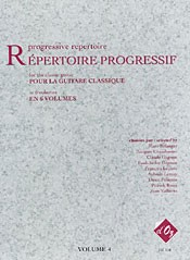 Repertoire Progressif Vol.4 available at Guitar Notes.