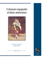 9 Chansons espagnoles et latino-americaines [Med Voc] available at Guitar Notes.