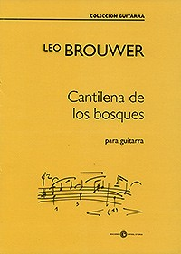 Cantilena de los bosques available at Guitar Notes.