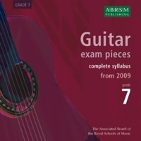 Recordings of Guitar Exam Pieces, Grade 7 available at Guitar Notes.