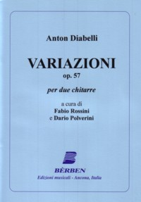 Variazioni, op.57(Rossini/Polverini) available at Guitar Notes.