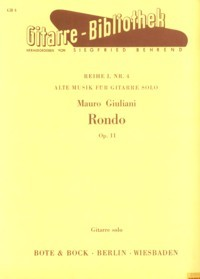 Rondo, op.11(Behrend) available at Guitar Notes.