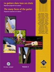 The Many Faces of the Guitar, Vol.3 available at Guitar Notes.
