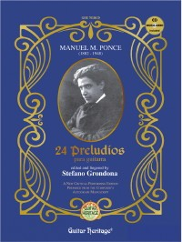 24 Preludes (Grondona) available at Guitar Notes.
