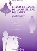 Chants et danses de la Cordillere des Andes available at Guitar Notes.