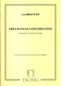 Tres Danzas concertantes [GPR] available at Guitar Notes.