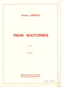 Trois Nocturnes available at Guitar Notes.