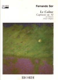 Le Calme, op.50(Ghiglia) available at Guitar Notes.