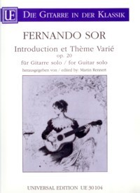 Intro.et Theme Varie, op.20(Rennert) available at Guitar Notes.