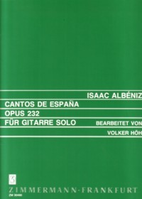 Cantos de Espana, op.232 (Hoh) available at Guitar Notes.